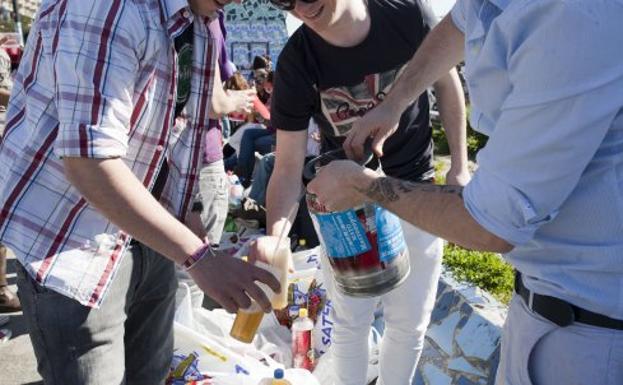 multa por vender alcohol