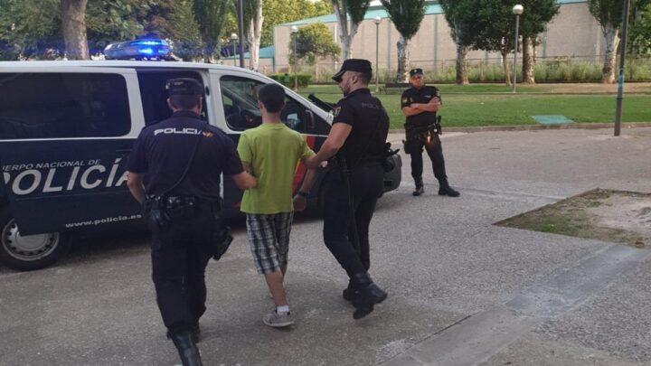 registro policial menores